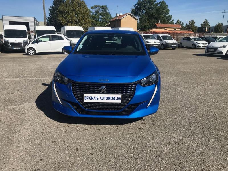 Photo 2 de l'offre de PEUGEOT 208 1.2 PURETECH 100CH S&S ALLURE EAT8 à 20990€ chez Brignais automobiles