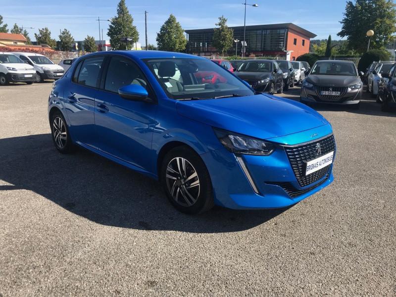 Peugeot 208 1.2 PURETECH 100CH S&S ALLURE EAT8 Essence BLEU C Occasion à vendre