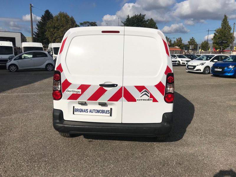 Photo 5 de l'offre de CITROEN BERLINGO M 1.6 BLUEHDI 100 CLUB à 15400€ chez Brignais automobiles