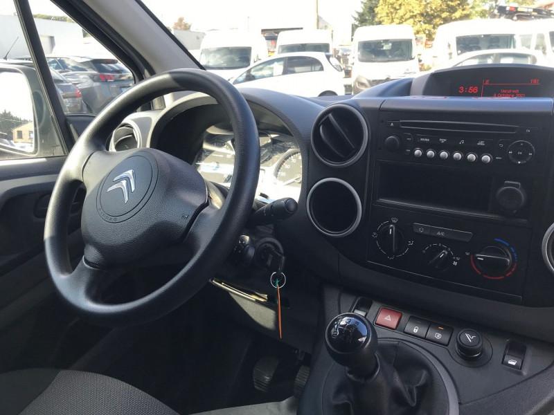 Photo 9 de l'offre de CITROEN BERLINGO M 1.6 BLUEHDI 100 CLUB à 15400€ chez Brignais automobiles