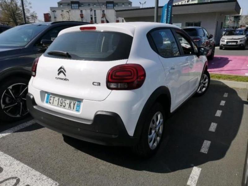 Photo 4 de l'offre de CITROEN C3 STE 1.6 BLUEHDI 75CH S&S FEEL à 7400€ chez Brignais automobiles