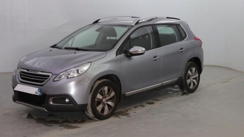 Peugeot 2008 1.6 VTI ALLURE BVA Essence GRIS C Occasion à vendre