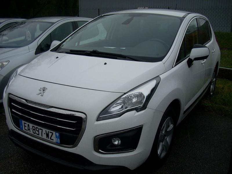 Peugeot 3008 1.6 BLUEHDI 120CH ACCESS BUSINESS S&S Diesel BLANC Occasion à vendre