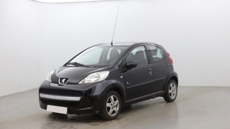 Peugeot 107 1.0 12V BLACK & SILVER 5P Essence NOIR Occasion à vendre