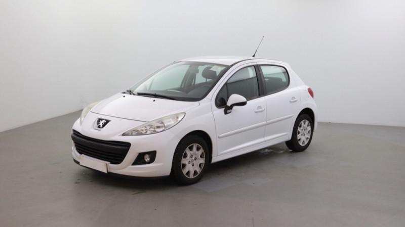 Peugeot 207 1.4 HDI70 FAP PREMIUM 5P Diesel BLANC Occasion à vendre