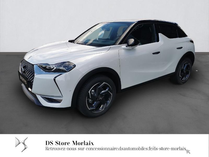 Ds DS 3 Crossback PureTech 130ch Grand Chic Automatique 7cv Essence BLANC PERLE Occasion à vendre