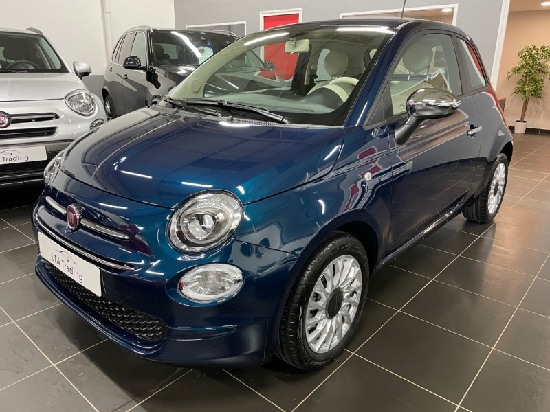 Fiat 500 1.0 70CH BSG S&S LOUNGE Essence EPIC BLUE Occasion à vendre