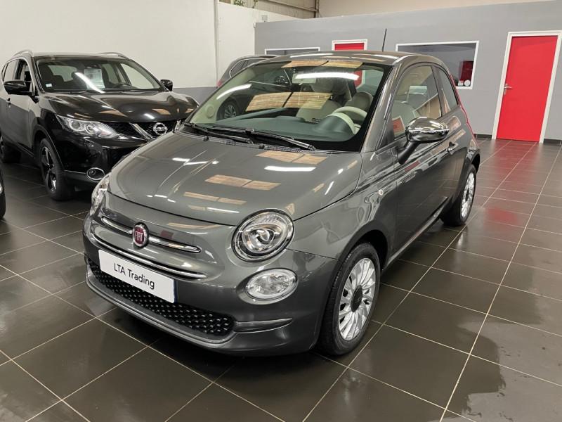 Fiat 500 1.0 70CH BSG S&S LOUNGE Essence GRIS GROOVE METAL Occasion à vendre