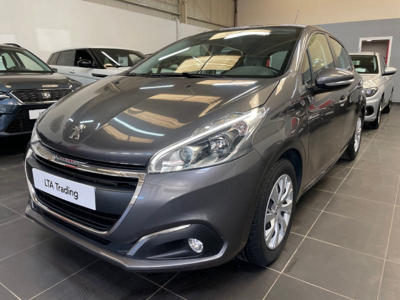Peugeot 208 1.2 PURETECH 82CH ACTIVE 5P Essence GRIS PLATINIUM Occasion à vendre