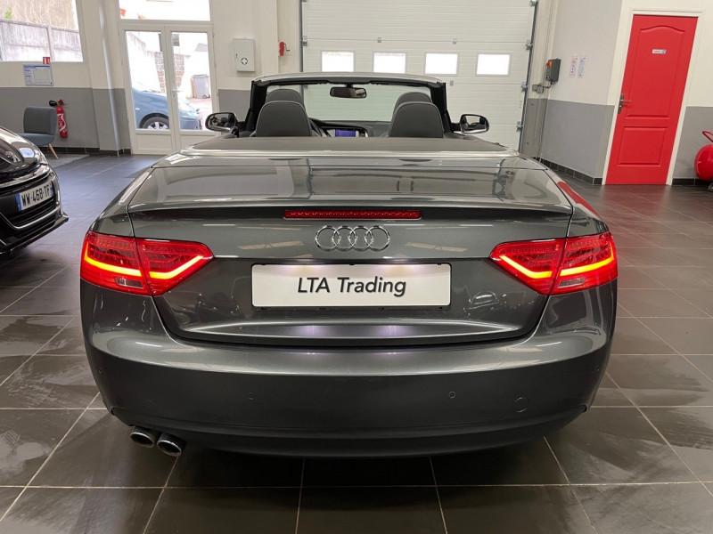 Photo 7 de l'offre de AUDI A5 CABRIOLET 3.0 V6 TDI 218CH S LINE QUATTRO S TRONIC 7 à 27990€ chez LTA Trading