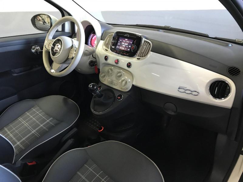 Photo 6 de l'offre de FIAT 500 1.2 8V 69CH ECO PACK LOUNGE EURO6D à 9990€ chez LTA Trading