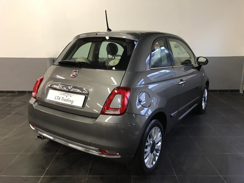 Photo 2 de l'offre de FIAT 500 1.2 8V 69CH ECO PACK LOUNGE EURO6D à 10490€ chez LTA Trading