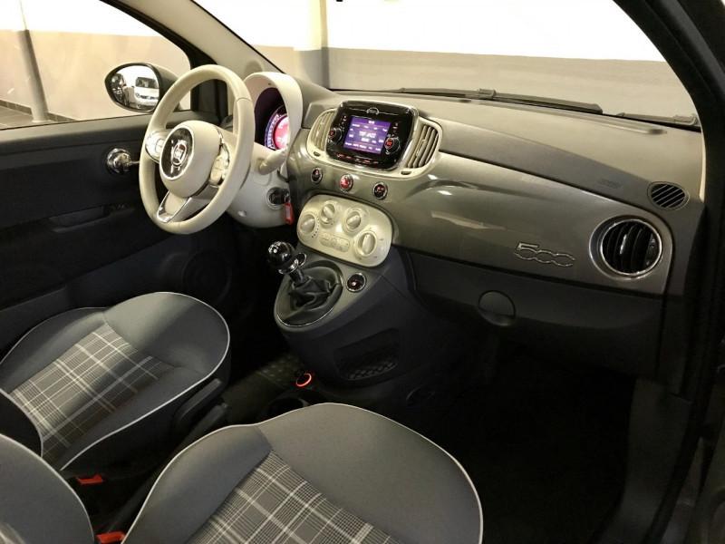 Photo 3 de l'offre de FIAT 500 1.2 8V 69CH ECO PACK LOUNGE EURO6D à 10490€ chez LTA Trading