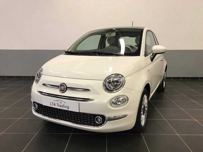 Fiat 500 1.2 8V 69CH ECO PACK LOUNGE EURO6D Essence BLANC Occasion à vendre