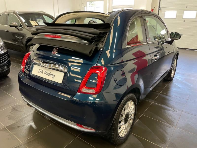Photo 4 de l'offre de FIAT 500C 1.2 8V 69CH LOUNGE DUALOGIC à 13490€ chez LTA Trading