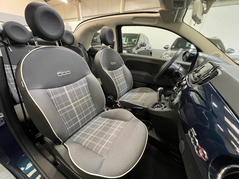 Photo 6 de l'offre de FIAT 500C 1.2 8V 69CH LOUNGE DUALOGIC à 13490€ chez LTA Trading