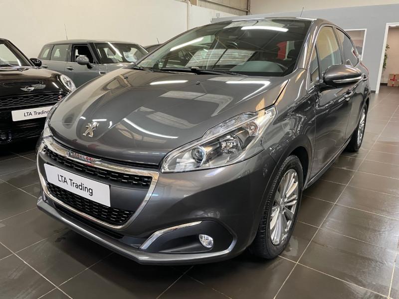 Peugeot 208 1.2 PURETECH 110CH E6.C ALLURE S&S EAT6 5P Essence GRIS PLATINIUM Occasion à vendre