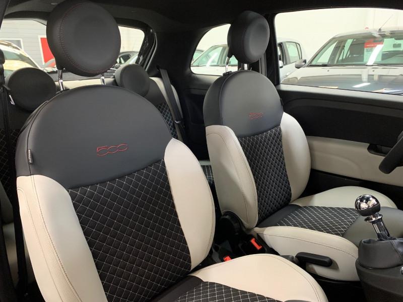 Photo 5 de l'offre de FIAT 500 1.2 8V 69CH ECO PACK STAR 109G à 10990€ chez LTA Trading