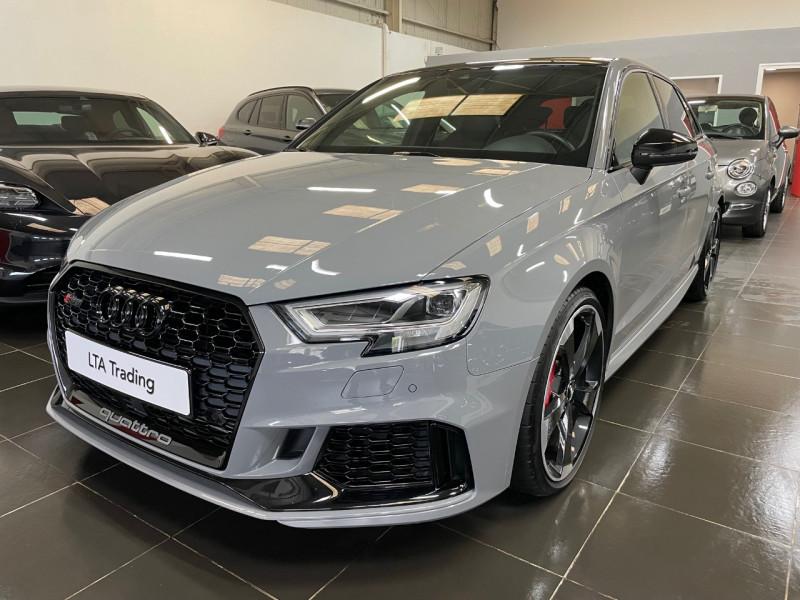 Audi RS3 SPORTBACK 2.5 TFSI 400CH QUATTRO S TRONIC 7 Essence GRIS NARDO Occasion à vendre
