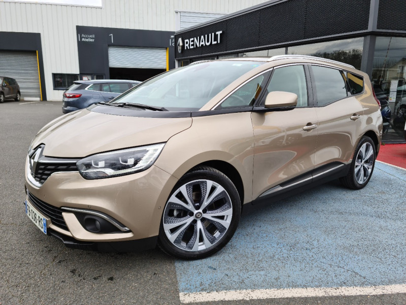 Renault GRAND SCENIC IV 1.5 DCI 110CH ENERGY INTENS Diesel BEIGE Occasion à vendre