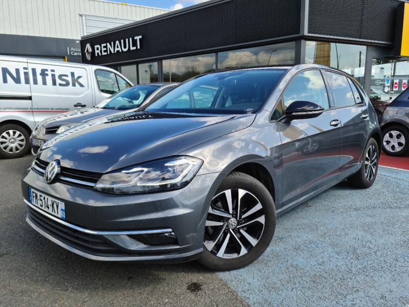 Volkswagen GOLF VII 1.5 TSI EVO 150CH IQ.DRIVE DSG7 EURO6D-T 5P Essence GRIS F Occasion à vendre