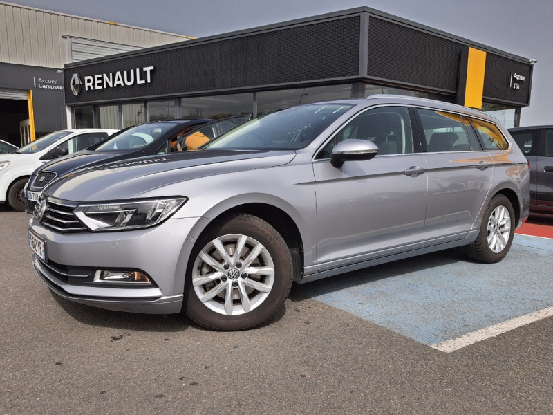 Volkswagen PASSAT SW 1.6 TDI 120CH CONFORTLINE BUSINESS DSG7 EURO6D-T Diesel GRIS C Occasion à vendre