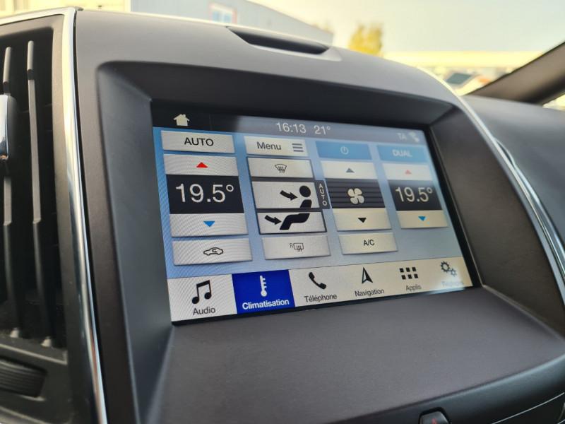 Photo 19 de l'offre de FORD S-MAX 2.0 ECOBLUE 150CH ST-LINE EURO6.2 à 24690€ chez JTA RENAULT JOUE LES TOURS