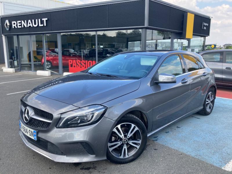 Mercedes-Benz CLASSE A (W176) 180 D BUSINESS EDITION 7G-DCT Diesel GRIS C Occasion à vendre
