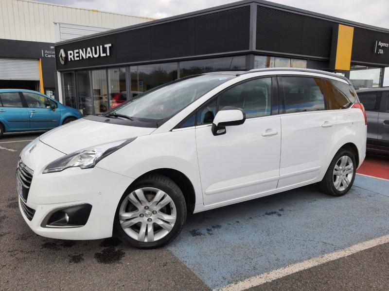 Peugeot 5008 1.6 BLUEHDI 120CH ALLURE S&S EAT6 7PL Diesel BLANC Occasion à vendre