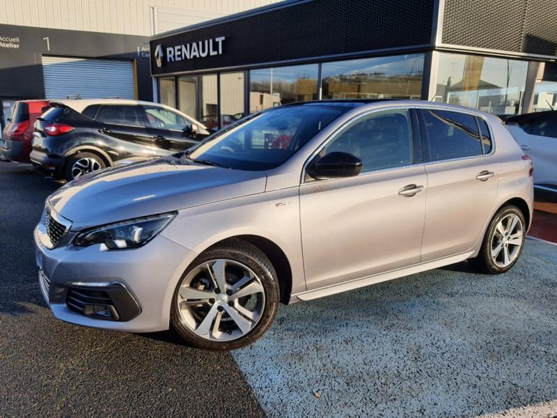 Peugeot 308 1.5 BLUEHDI 130CH S&S GT LINE Diesel GRIS C Occasion à vendre