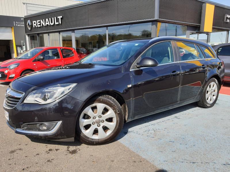 Opel INSIGNIA SP TOURER 1.6 CDTI 136CH BUSINESS CONNECT ECOFLEX START&STOP Diesel NOIR Occasion à vendre