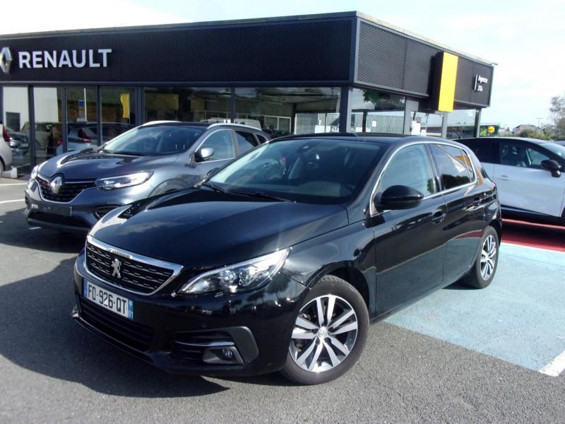 Peugeot 308 1.2 PURETECH 130CH E6.3 S&S ALLURE Essence NOIR Occasion à vendre