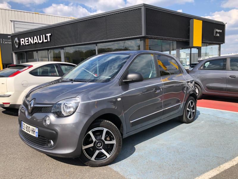 Renault TWINGO III 0.9 TCE 90CH ENERGY INTENS EURO6C Essence GRIS F Occasion à vendre