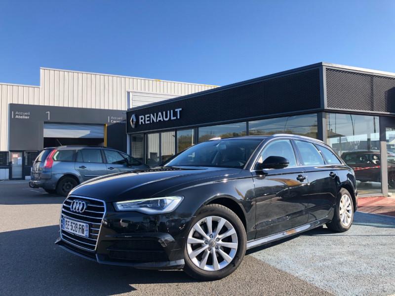 Audi A6 AVANT 2.0 TDI 190CH ULTRA BUSINESS LINE S TRONIC 7 Diesel NOIR Occasion à vendre