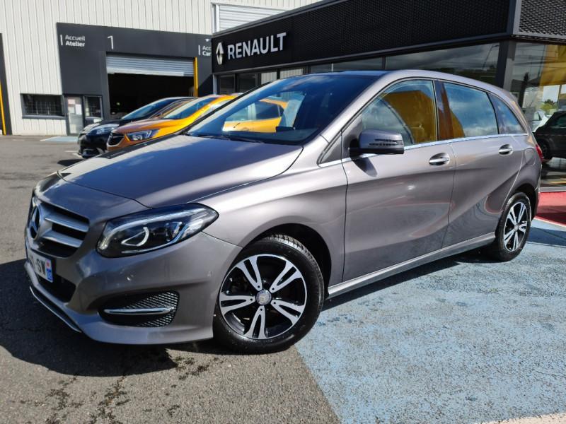 Mercedes-Benz CLASSE B (W246) 200D 136CH BUSINESS EDITION 7G-DCT Diesel GRIS C Occasion à vendre