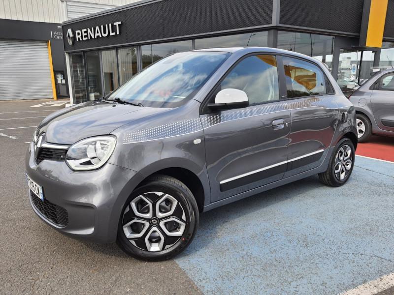 Renault TWINGO III 1.0 SCE 65CH LIMITED E6D-FULL Essence GRIS Occasion à vendre