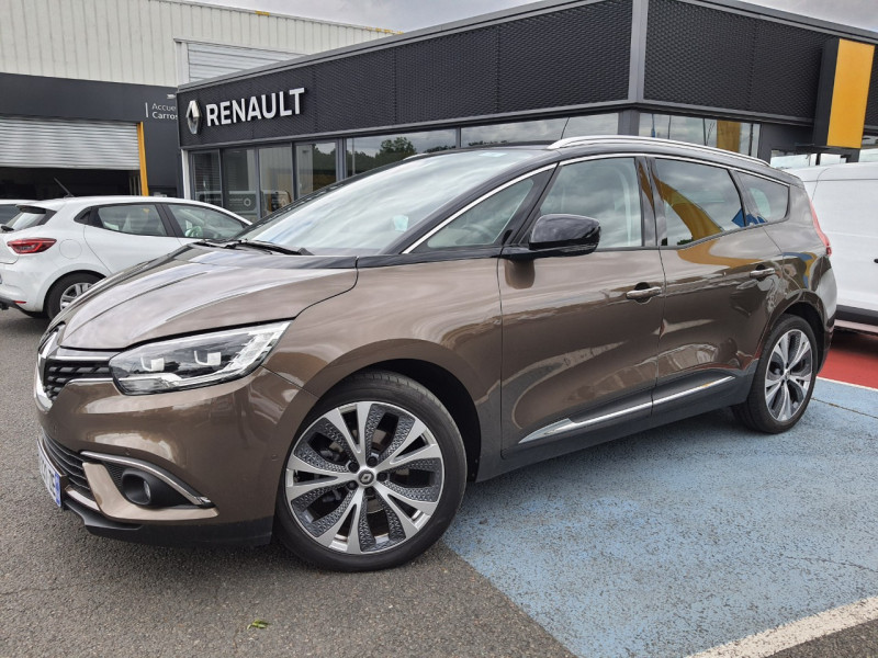 Renault GRAND SCENIC IV 1.6 DCI 130CH ENERGY INTENS Diesel GRIS F Occasion à vendre