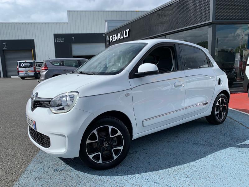 Renault TWINGO III 0.9 TCE 95CH INTENS Essence BLANC Occasion à vendre