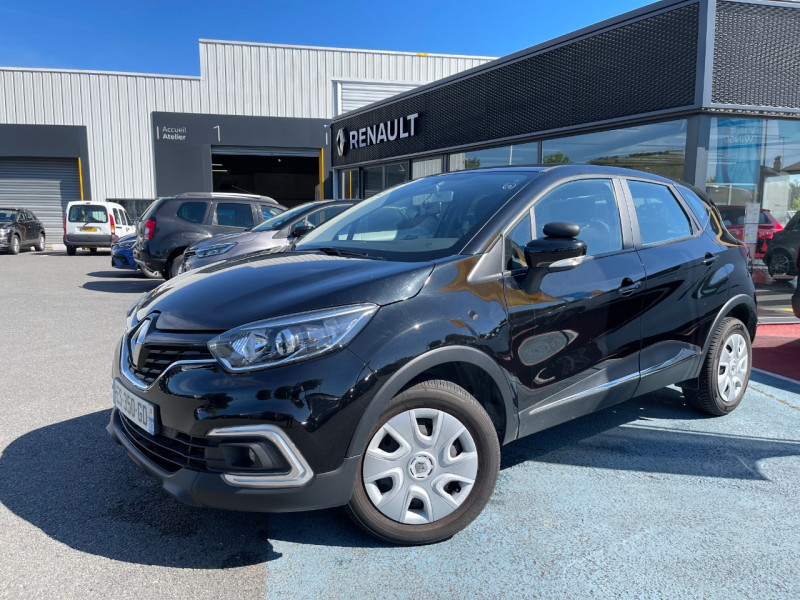 Renault CAPTUR 1.5 DCI 90CH ENERGY BUSINESS ECO² Diesel NOIR Occasion à vendre