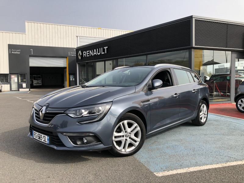 Renault MEGANE IV ESTATE 1.3 TCE 115CH FAP BUSINESS Essence GRIS Occasion à vendre