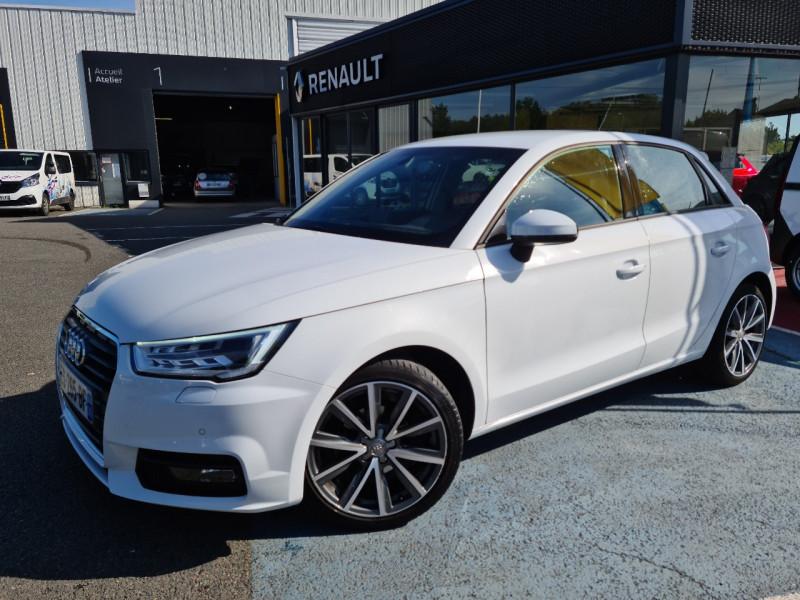 Audi A1 SPORTBACK 1.0 TFSI 95CH ULTRA AMBITION LUXE Essence BLANC Occasion à vendre