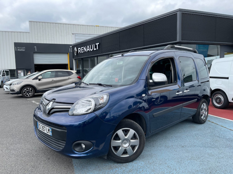 Renault KANGOO II 1.5 DCI 90CH ENERGY LIMITED FT EURO6 Diesel BLEU F Occasion à vendre