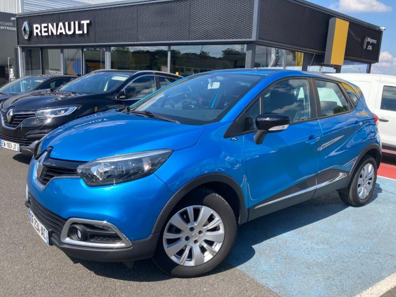 Renault CAPTUR 1.5 DCI 90CH STOP&START ENERGY BUSINESS ECO² Diesel BLEU Occasion à vendre