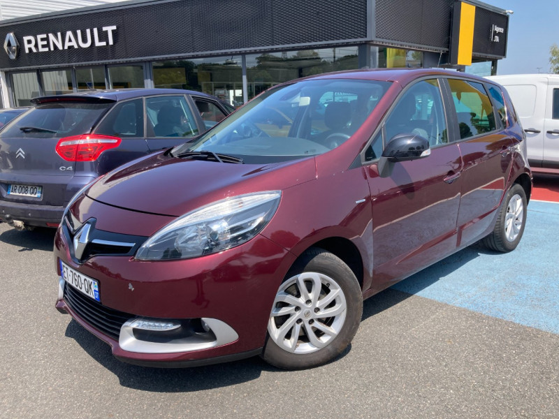 Renault SCENIC III 1.5 DCI 110CH ENERGY LIMITED EURO6 2015 Diesel ROUGE Occasion à vendre