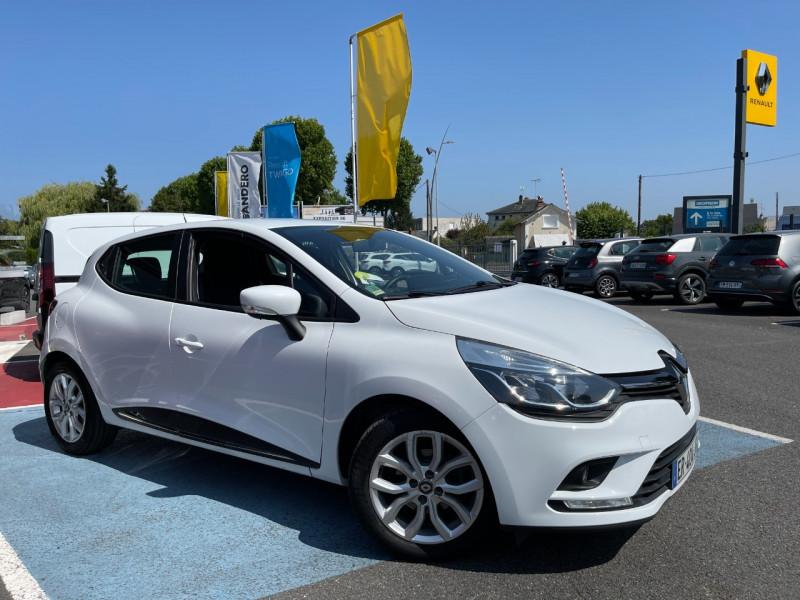 Renault CLIO IV 1.5 DCI 90CH ENERGY BUSINESS EDC 5P Diesel BLANC Occasion à vendre