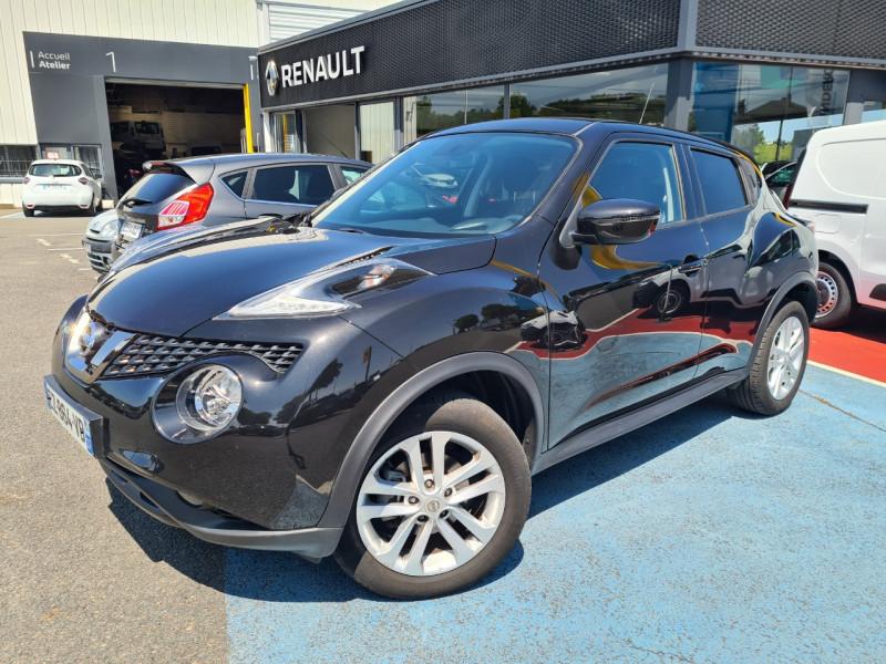 Nissan JUKE 1.2 DIG-T 115CH ACENTA Essence NOIR Occasion à vendre