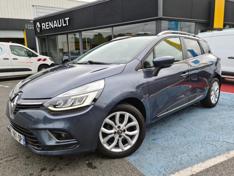 Renault CLIO IV ESTATE 1.5 DCI 90CH ENERGY INTENS Diesel GRIS F Occasion à vendre