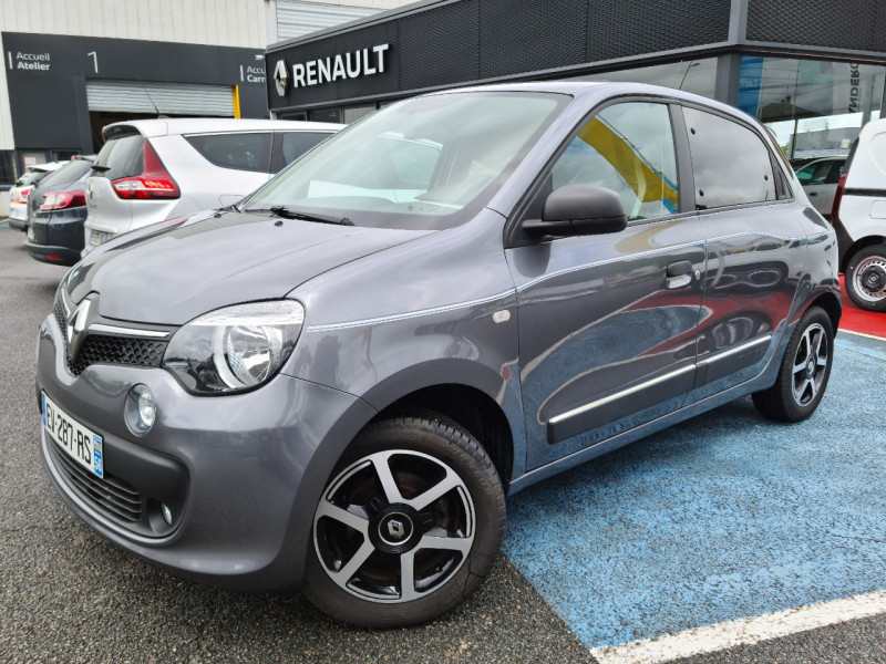 Renault TWINGO III 0.9 TCE 90CH ENERGY INTENS Essence GRIS F Occasion à vendre