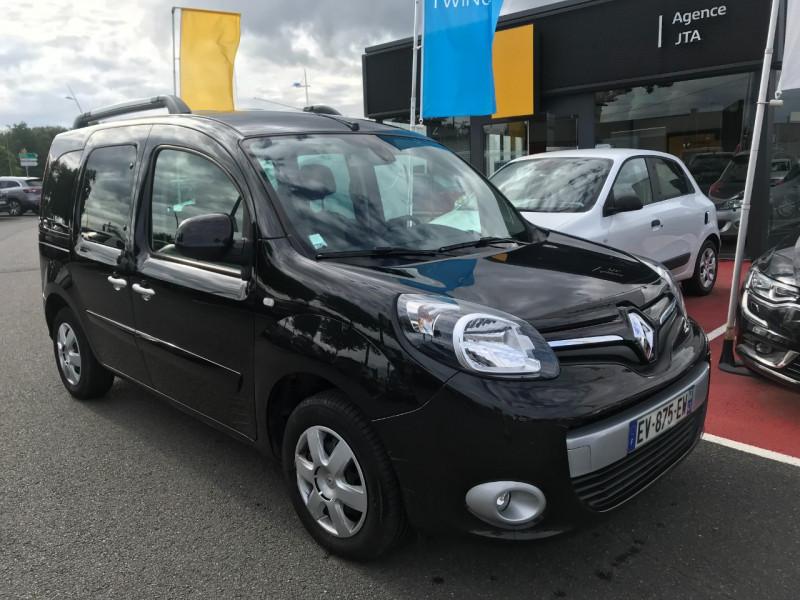 Renault KANGOO II 1.2 TCE 115CH ENERGY INTENS FT EURO6 Essence NOIR Occasion à vendre