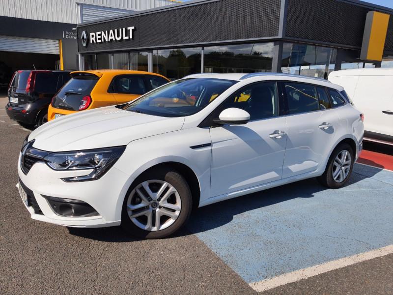 Renault MEGANE IV ESTATE 1.3 TCE 115CH FAP BUSINESS Essence BLANC Occasion à vendre